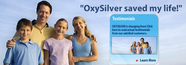OxySilver Saved My Life! Natural Immune Support